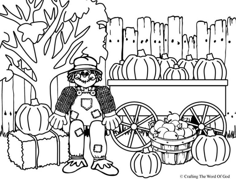 Free Scarecrow Printables