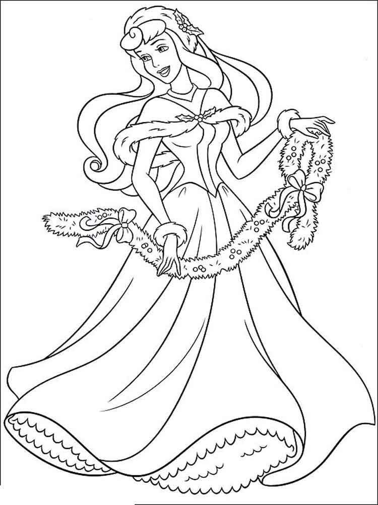 Free Sleeping Beauty Coloring Pages