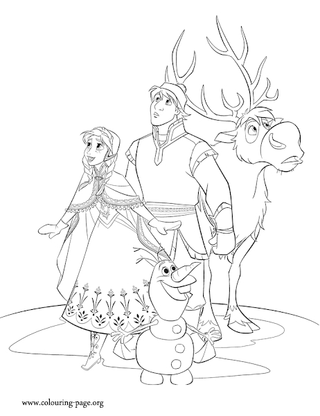 Frozen Kristoff And Elsa