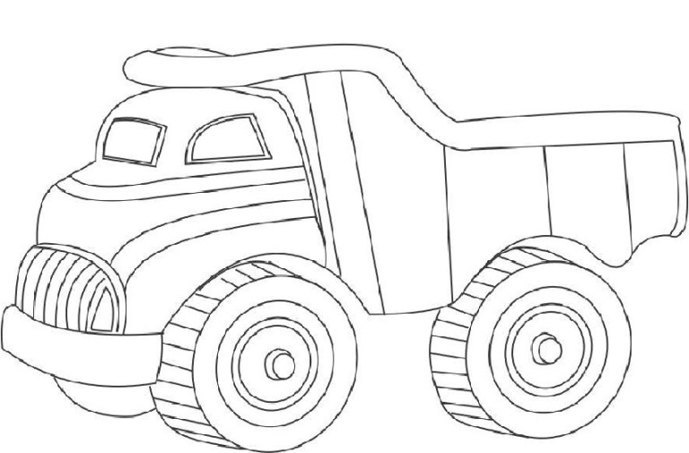 Garbage Truck Coloring Pictures