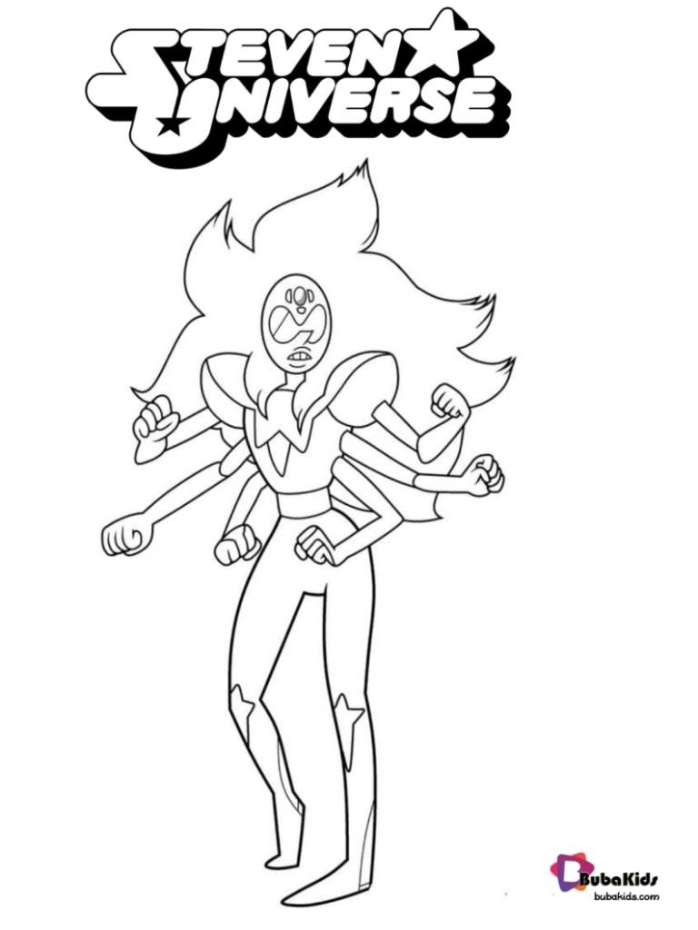 Garnet Steven Universe Coloring Pages