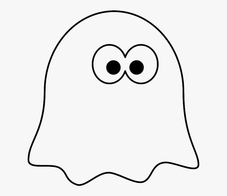 Ghost Coloring Pages Free