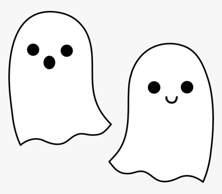 Ghost Coloring Pictures