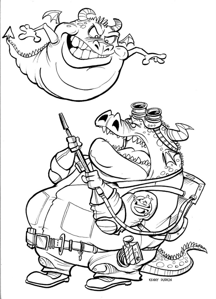 Ghostbusters Coloring