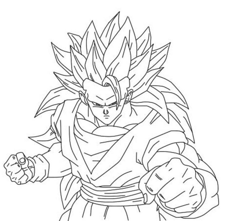 goku super saiyan coloring pages