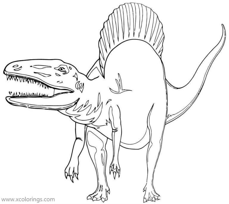 Gorgosaurus Coloring Page