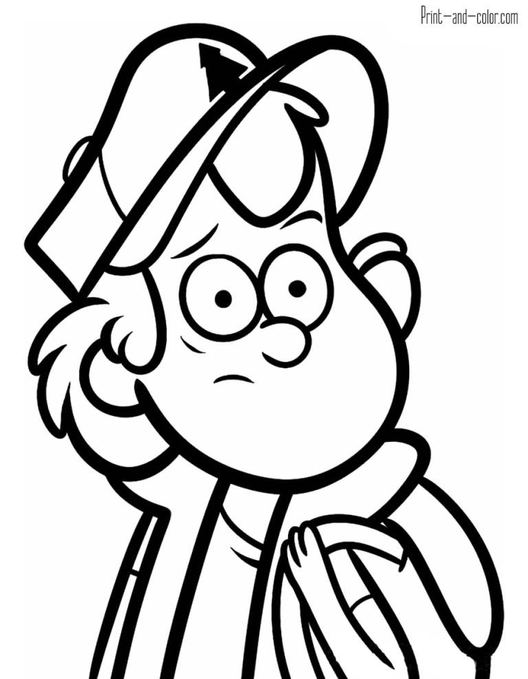 Gravity Falls Coloring