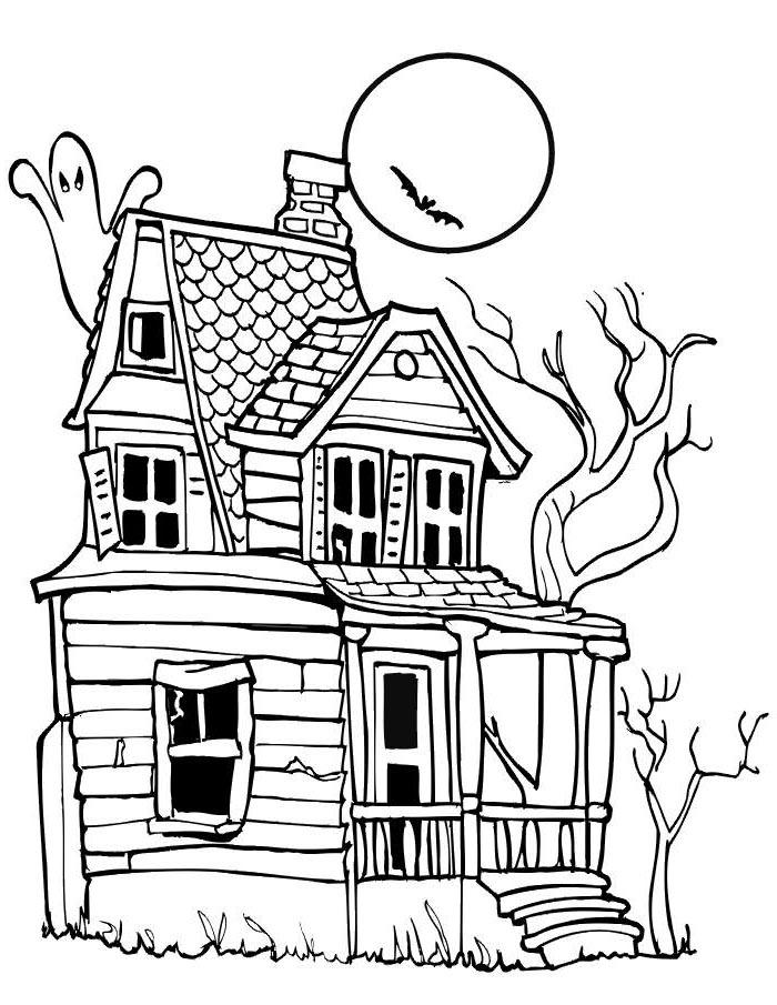 Halloween Haunted House Printables