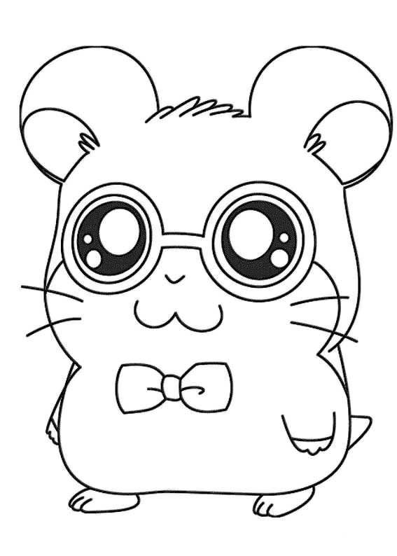 Hamsters Coloring Pages