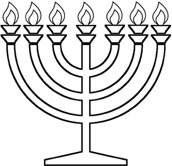 Hanukkah Pictures To Color