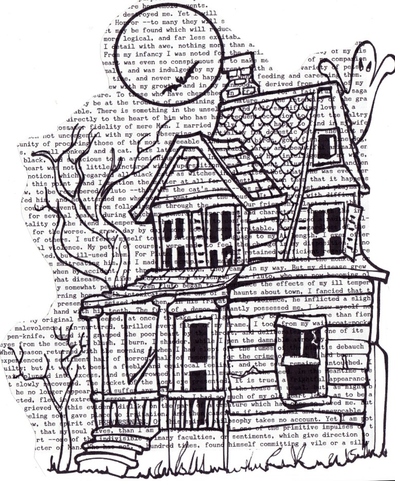 Haunted Houses To Color