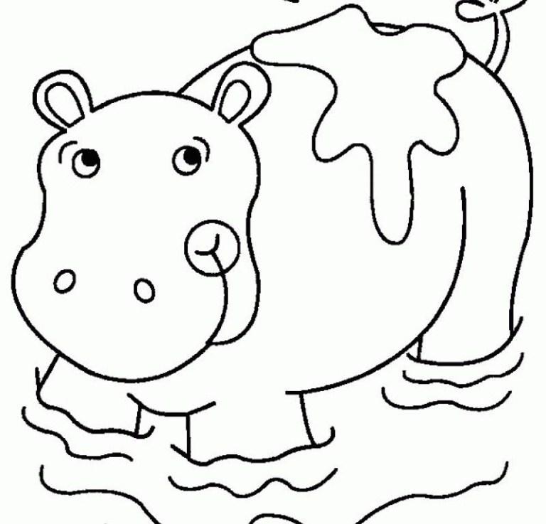 Hippo Printables