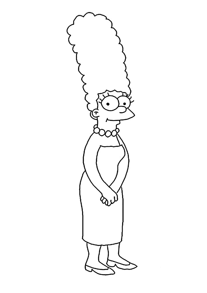 Homer Coloring Pages