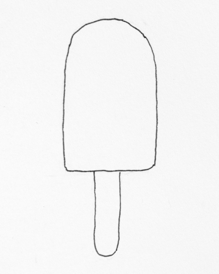 Ice Pop Coloring Pages