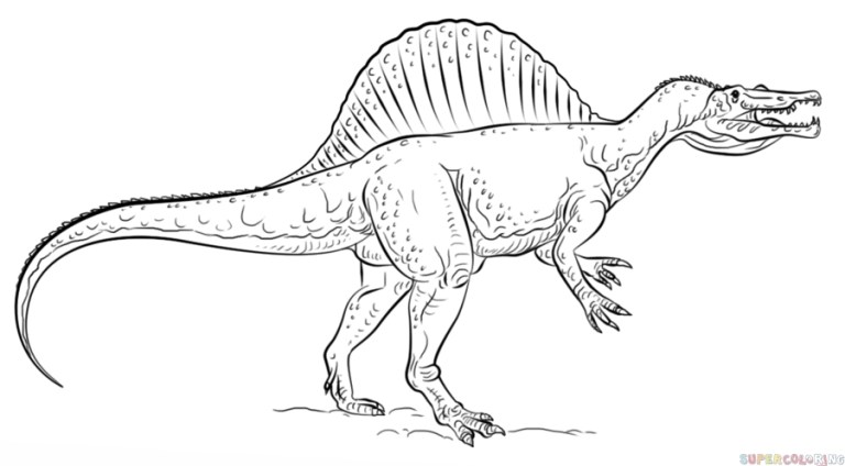 Jurassic World Coloring Pages Trex