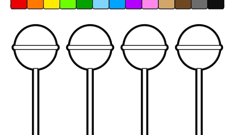 learn colors for Popsicle