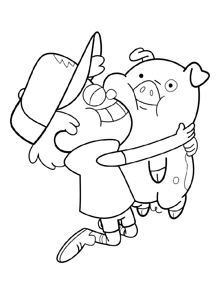 Mabel Pines Coloring Pages