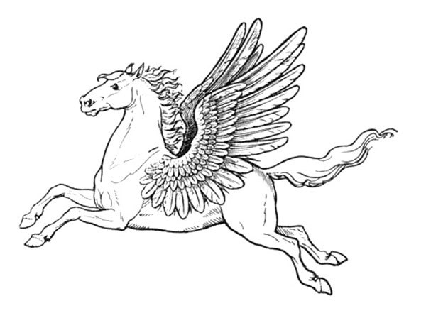 Pegasus Pictures To Color