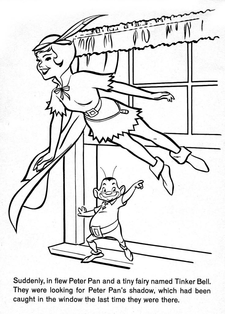 Peter Pan Coloring