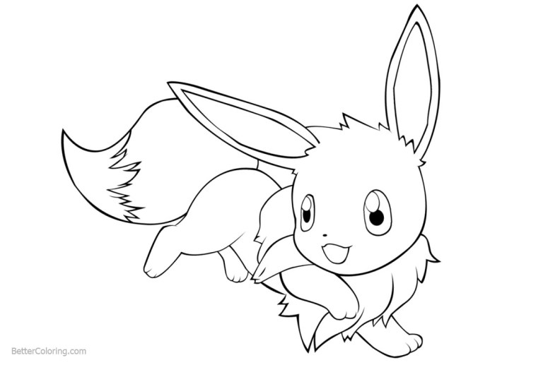 Pokemon Evolution Coloring Pages