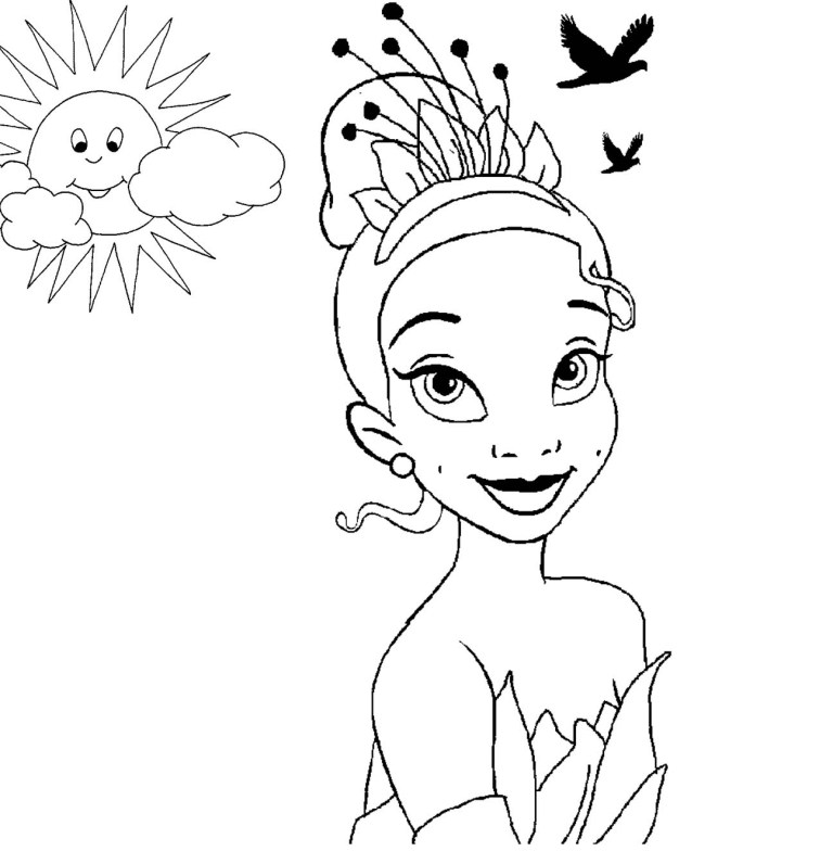 Princess Bell Coloring Pages
