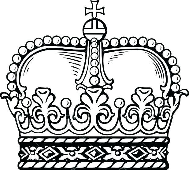 Princess Crown Coloring Pages