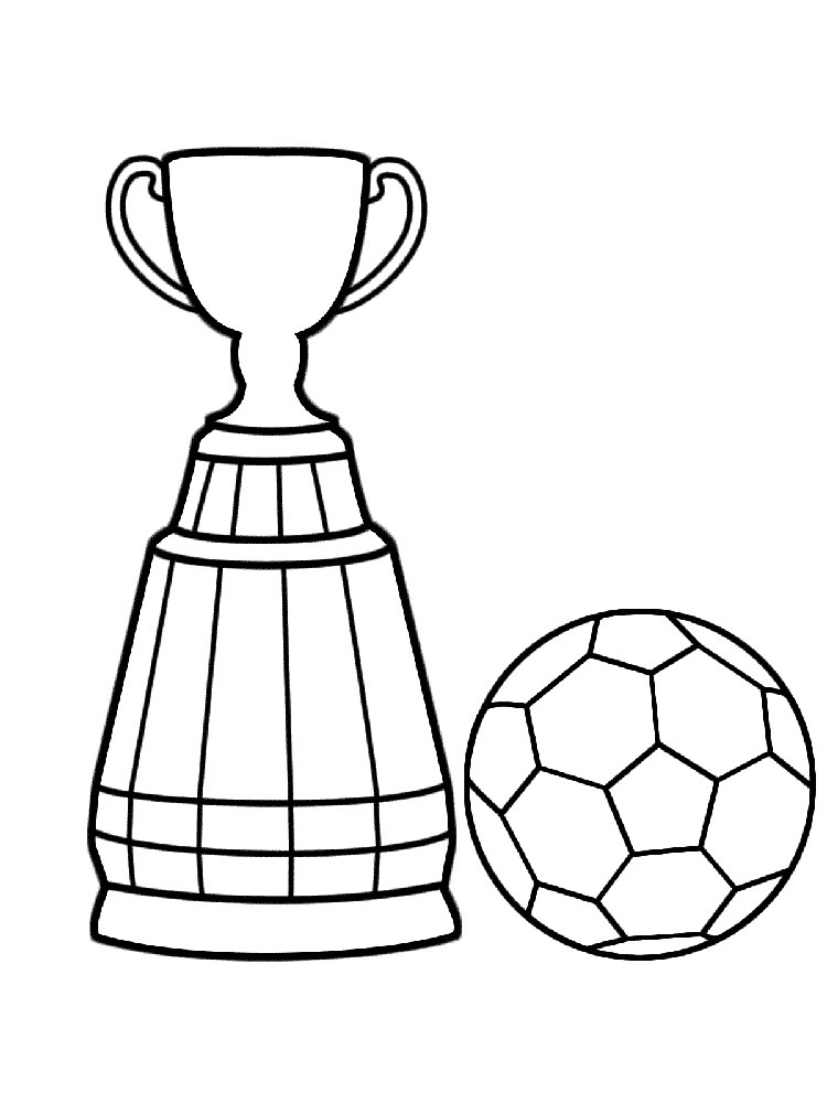 Printable Soccer Coloring Pages