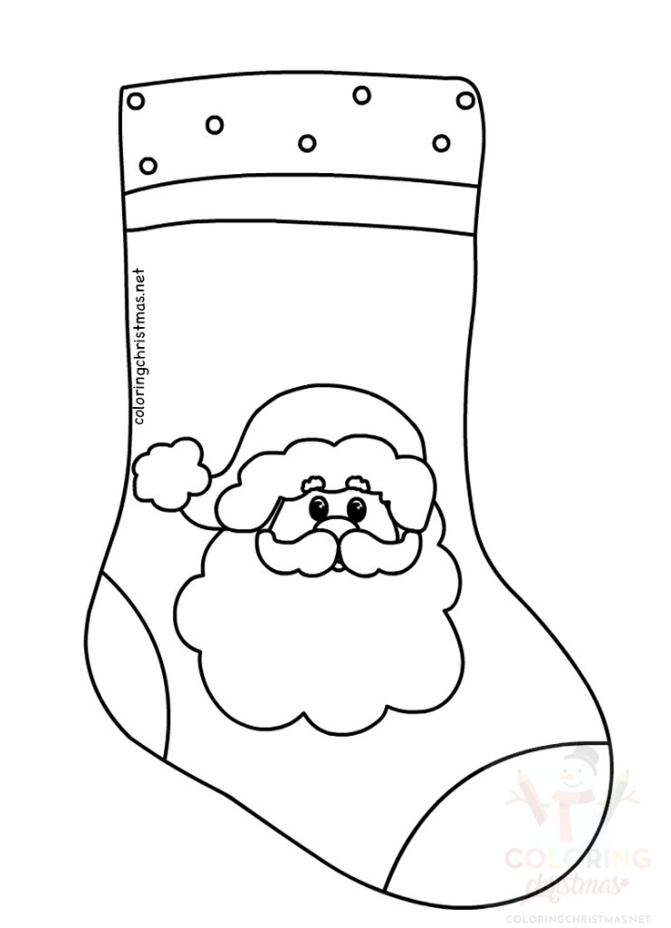 Printable Stocking