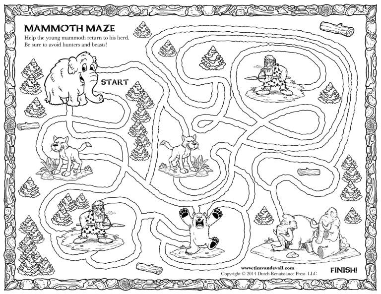 Printable Treasure Map For Kids