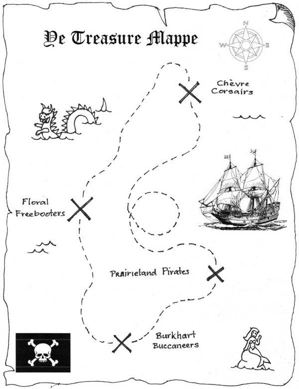 Printable Treasure Map Template