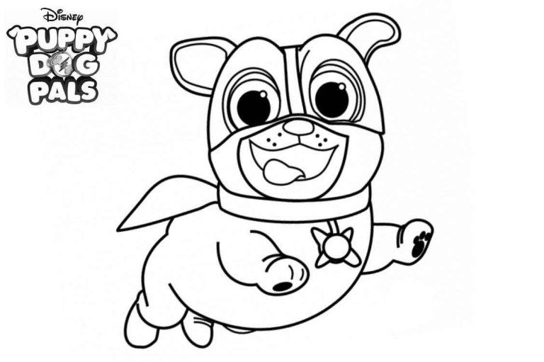 Puppy Dog Pal Coloring Pages