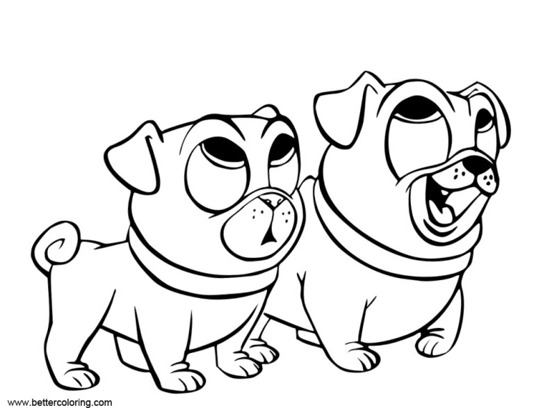 Puppy Dog Pals Printable Images