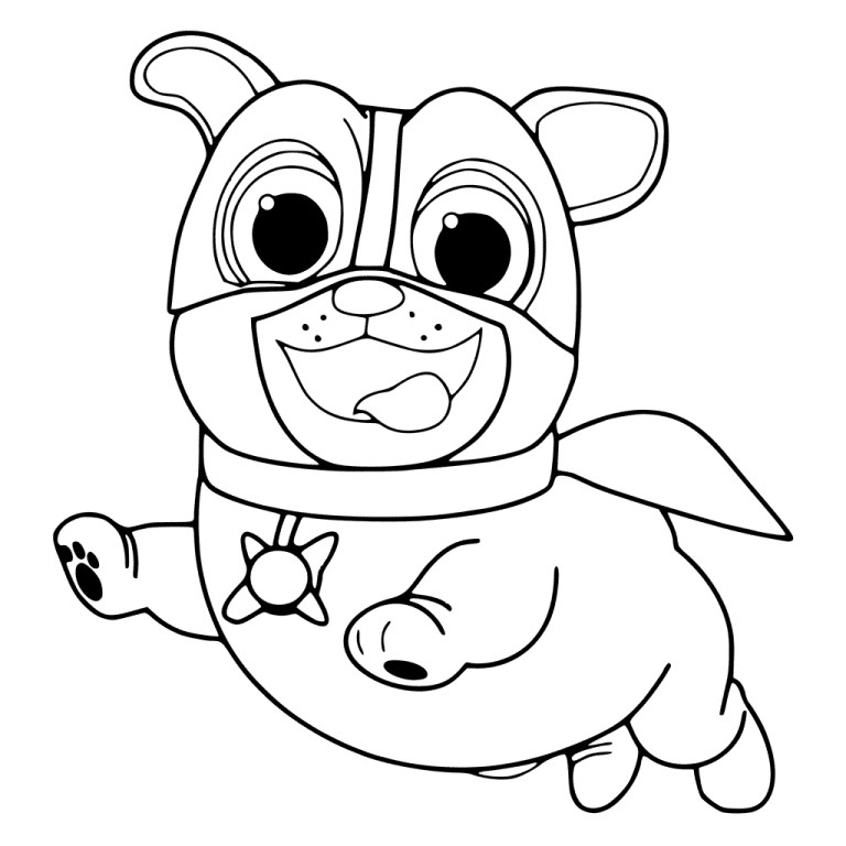 Puppy Pals Coloring Pages