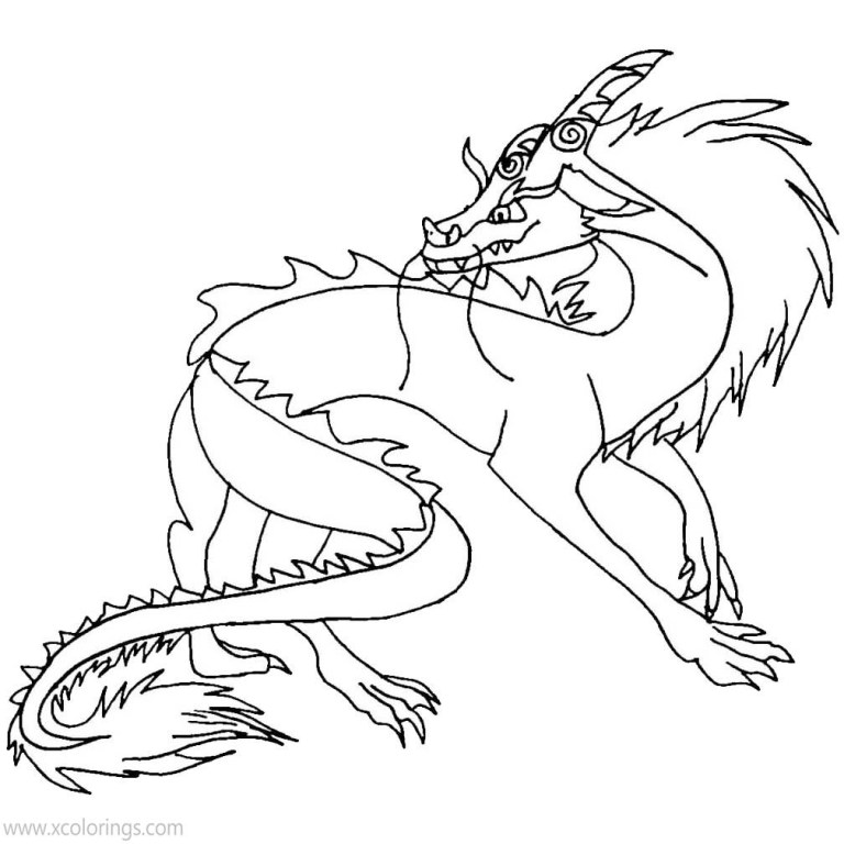 Raya And The Last Dragon Coloring Pages for kids