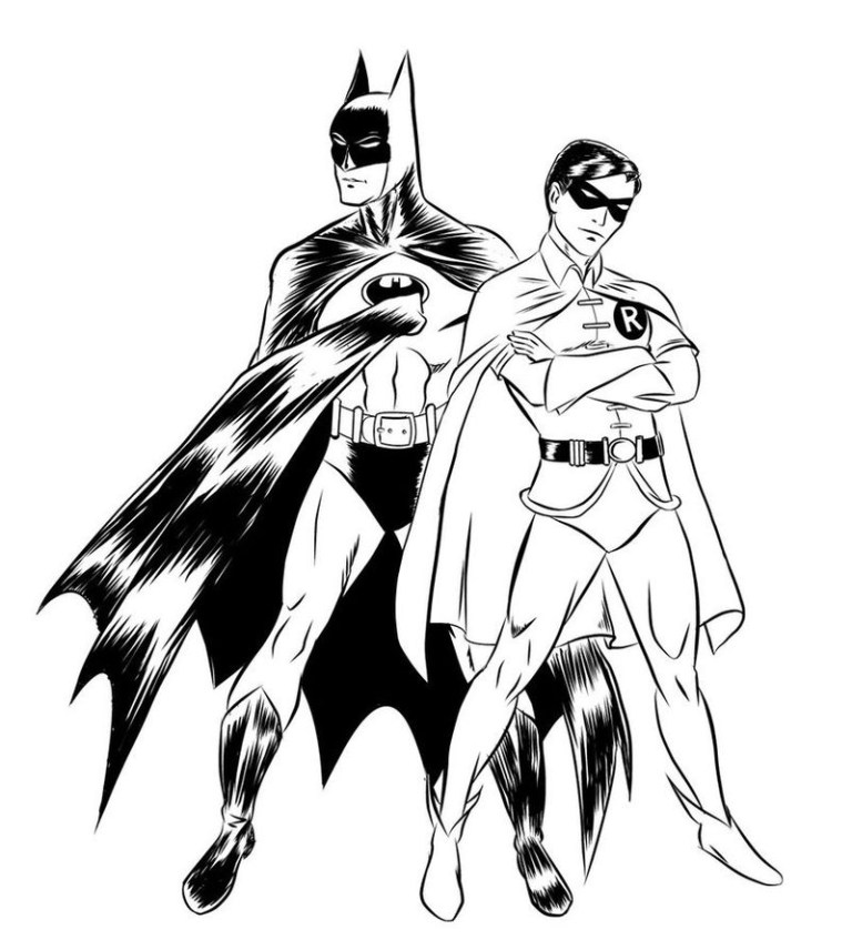 Red Robin Coloring Page