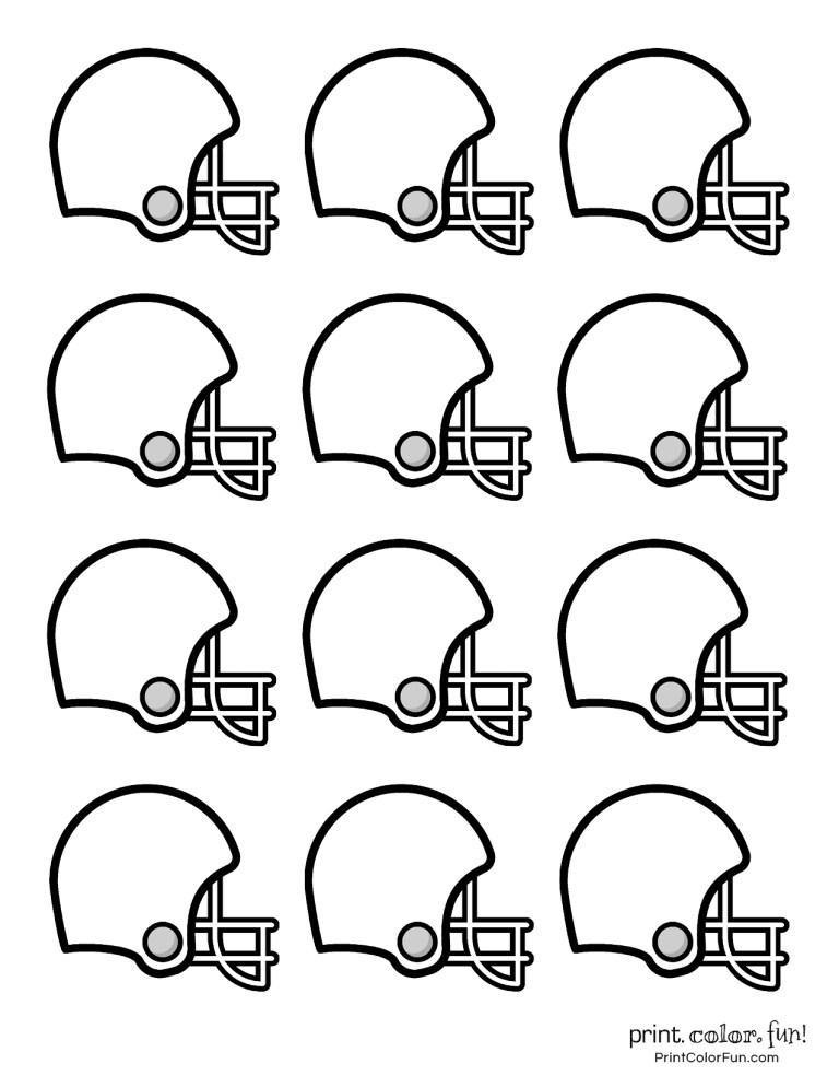 Seattle Seahawks Helmet Coloring Page