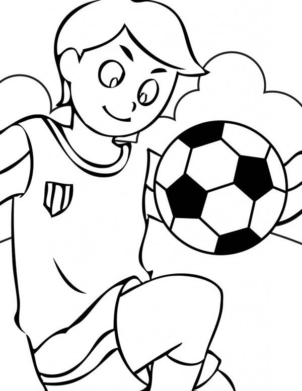 Soccer Ball Coloring Sheets