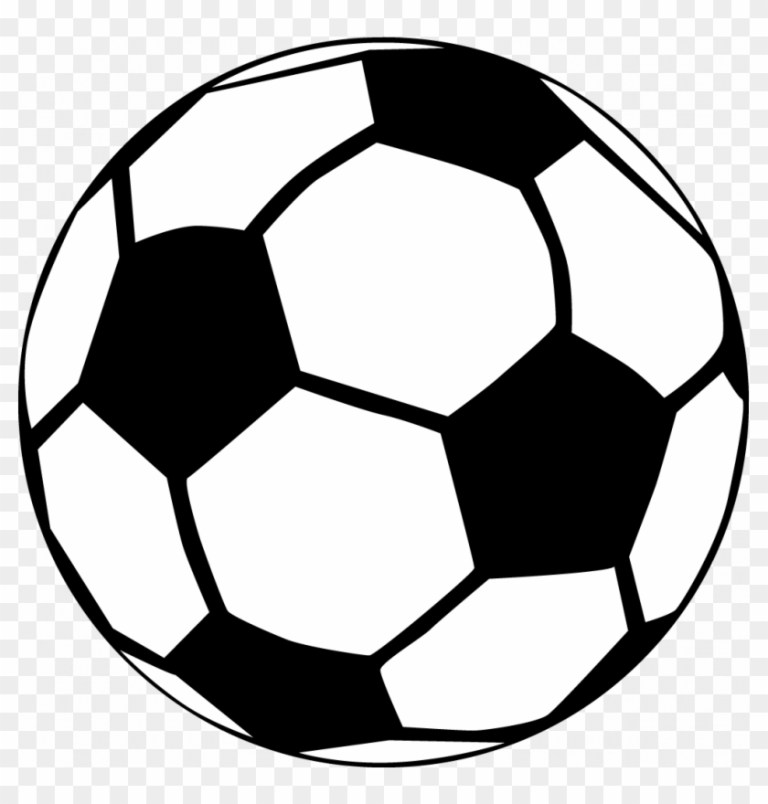 Soccer Coloring Picture