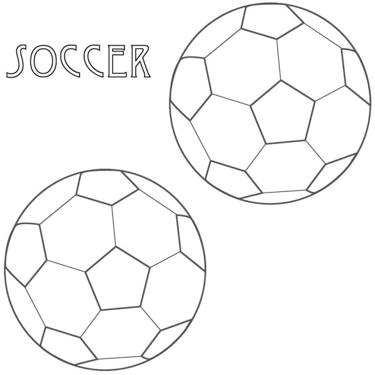Soccer Coloring
