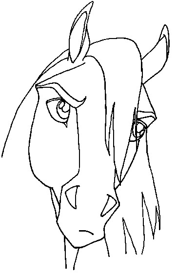 Spirit Movie Coloring Pages
