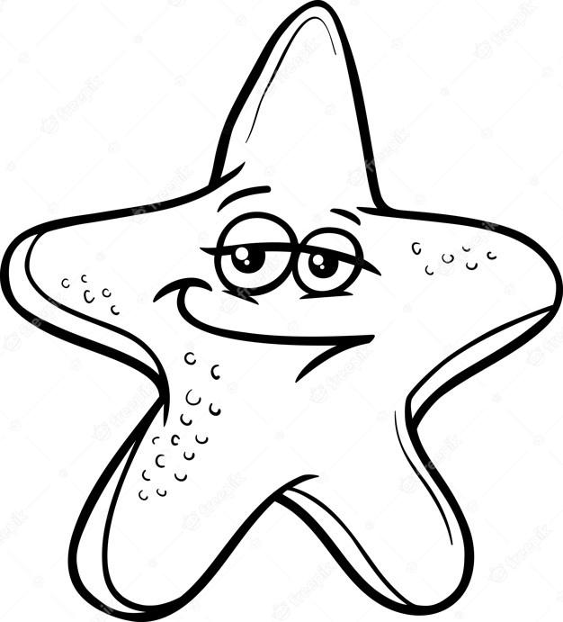 Starfish Color Sheets