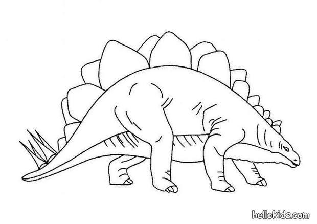 Stegasaurus Coloring