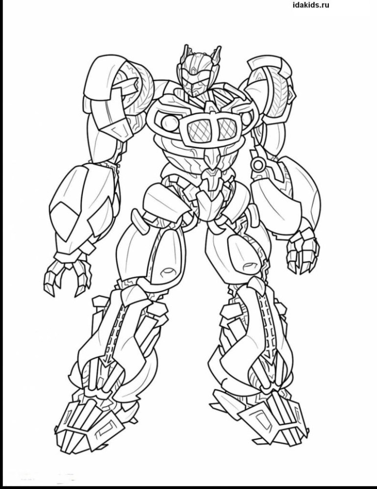 Transformer Coloring Pages Pdf