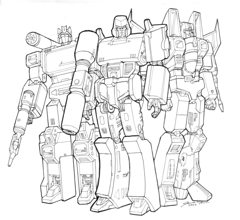 Transformer Pictures To Color