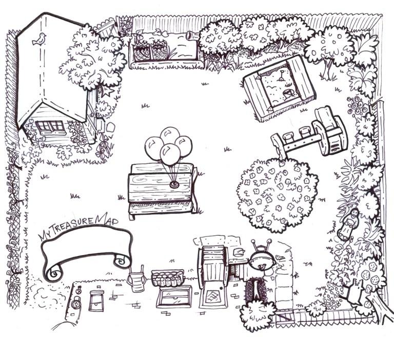 Treasure Map Coloring