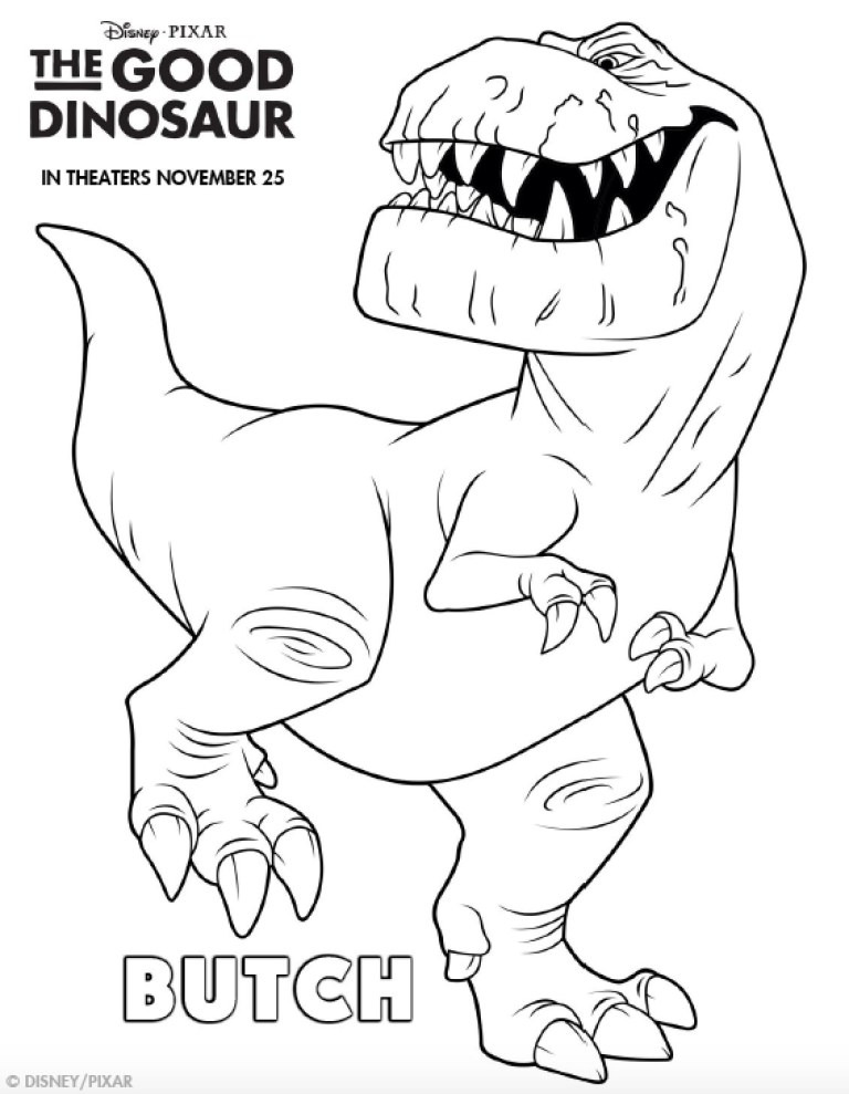 Triceratop Coloring Page