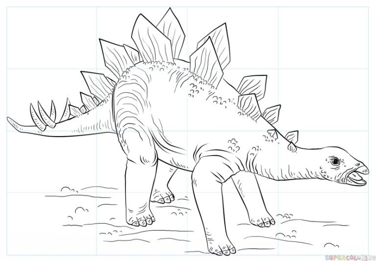 What Color Is A Stegosaurus