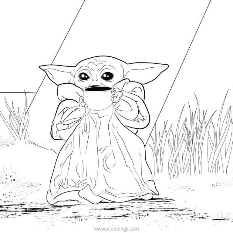 Yoda Coloring Pictures