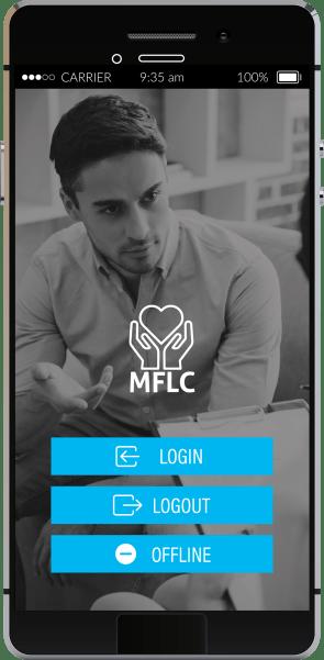 MFLC App Homescreen