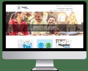 AFSC/Magellan Federal Homepage Re-Design